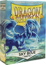 Picture of Dragon Shields Matte Sky Blue Card Sleeves