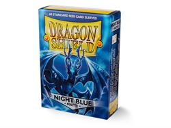 Picture of Dragon Shields Matte Night Blue Card Sleeves