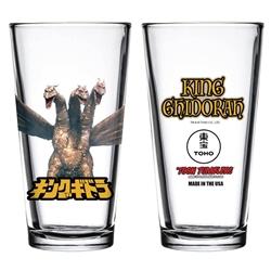 Picture of Godzilla King Ghidorah Toon Tumbler Glass