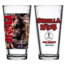 Picture of Godzilla 1954 Poster Toon Tumbler Glass