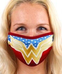 Picture of Wonder Woman Logo Adult Mask Cover
