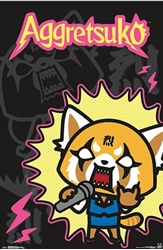 Picture of Aggretuko Rock Out Poster
