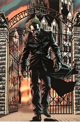 Picture of Batman Joker Arkham Asylum Poster
