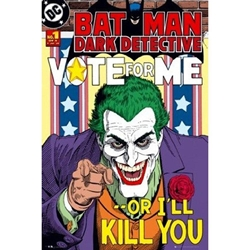 Picture of Batman Joker Vote for Me Poster