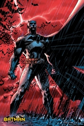 Picture of Batman Red Storm Poster