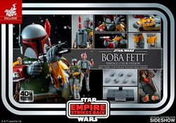 Picture of Star Wars Boba Fett 40th Anniversary Hot Toy