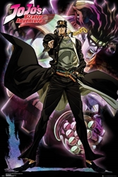Picture of JoJo's Bizarro Adventure Jotaro Poster