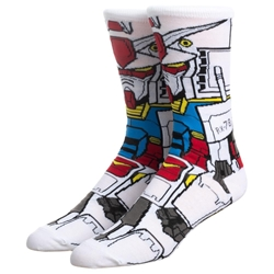 Picture of Gundam RX-78 360 Character Crew Sock