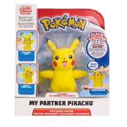 Picture of Pokemon Pikachu My Partner Electronic Action Figure