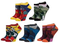 Picture of Gundam 5 Pair Ankle Pack Socks