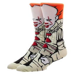 Picture of Classic Films IT Penneywise 360 Character Crew Sock