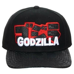 Picture of Godzilla Kanji Pre-Curved Snapback Cap