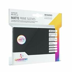Picture of Matte Prime Card Sleeves 100 Count Black