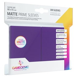 Picture of Matte Prime Card Sleeves 100 Count Purple
