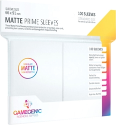 Picture of Matte Prime Card Sleeves 100 Count White