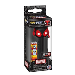 Picture of Pop PEZ Marvel Deadpool Gamer Candy and Dispenser Gamestop Exclusive