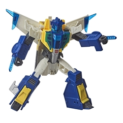 Picture of Transformers Meteorfire Cyberverse Adventures Battle Call Troopers Wave 1 Action Figure
