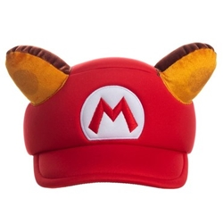 Picture of Mario Raccoon Cosplay Hat