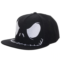 Picture of Nightmare Before Christmas Jack Pumpkin King Big Face Snapback Cap