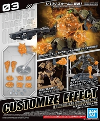 Picture of Gundam 30 Minute Missions Burst Scene Orange Spirits Customize Effect