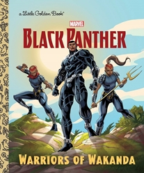 Picture of Black Panther Warriors of Wakanda Little Golden Book