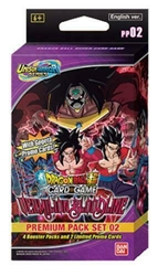 Picture of Dragon Ball Super Unison Warriors Vermillion Bloodline Premium Pack