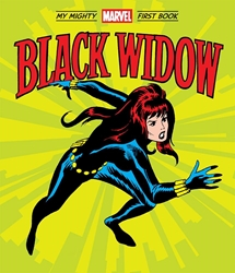 Picture of Black Widow - My Mighty First Book Board Book