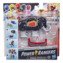 Picture of Power Rangers Mastodon and Pterodactyl Dinozord Mighty Dino Megazord Wave 1 Action Figure