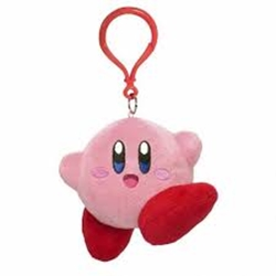 "Picture of Kirby 3.5"" Jumping Plush"