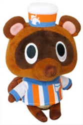 """Picture of Animal Crossing Timmy Store Clerk 5"""" Plush"""
