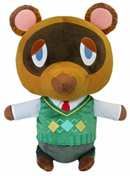 """Picture of Animal Crossing Tom Nook 16"""" Plush"""