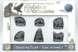Picture of Animal Adventures Cats and Catacombs Questing Tooth and Claw Volume 1 Miniatures