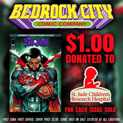 Picture of Spawn #311 Chadwick Boseman Tribute Cover