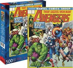 Picture of Avengers Cover 500 Piece Puzzle