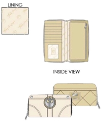 Picture of Star Wars Princess Leia Hoth Cosplay Zip Around Wallet