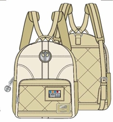 Picture of Star Wars Princess Leia Hoth Cosplay Mini Backpack
