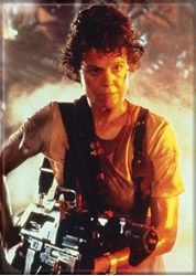 Picture of Alien Ripley Flame Thrower Magnet