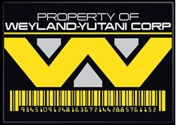 Picture of Alien Weyland Yutani Corp Magnet