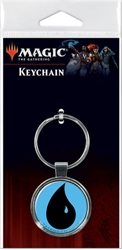 Picture of Magic the Gathering Water Mana Keychain