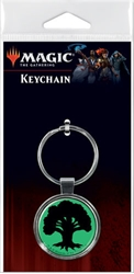 Picture of Magic the Gathering Tree Mana Keychain