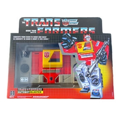 Picture of Transformers Heroic Autobot Blaster