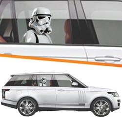 Picture of Star Wars Stormtrooper New Hope Passenger Series Window Decal