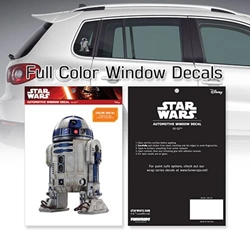 Picture of Star Wars R2-D2 Window Decal