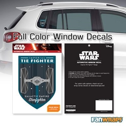 Picture of Star Wars Imperial TIE Fighter Badge Window Decal