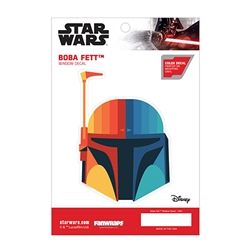 Picture of Star Wars Boba Fett Chromatic Window Decal