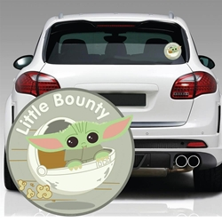 Picture of Star Wars Mandalorian Child Little Bounty Window Decal