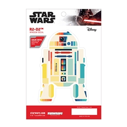 Picture of Star Wars R2-D2 Chromatic Window Decal