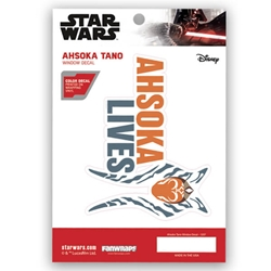 Picture of Star Wars Ahsoka Lives Window Decal