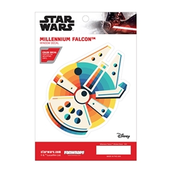 Picture of Star Wars Millennium Falcon Chromatic Window Decal