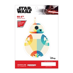 Picture of Star Wars BB-8 Chromatic Window Decal